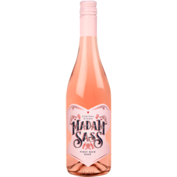 Photo of Madam Sass Pinot Noir Rosé 750ml