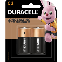 Photo of Duracell Coppertop C 2pk