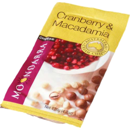 Photo of Moondarra Crnby/Macadam Cheese 120gm