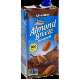 Photo of Blue Diamond Almonds Almond Breeze Almondmilk Chocolate
