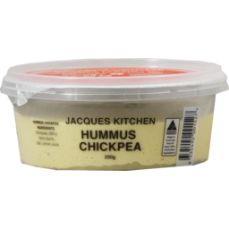 Photo of Jacques Kitchen Hummus Chickpea 200g