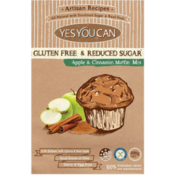 Photo of Yes You Can Gluten Free Apple & Cinnamon Muffin Mix 400gm