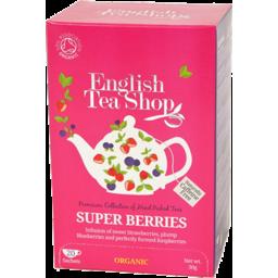 Photo of English Tea Shop - Super Berries - 20 Bags