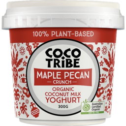 Photo of Coco Tribe Maple Pecan Crunch Organic Coconut Milk Yoghurt 300g