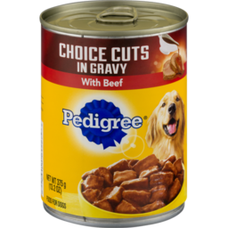 Photo of Pedigree Choice Cuts In Gravy With Beef Dog Food