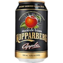 Photo of Kopparberg Apple Cider 330ml Can