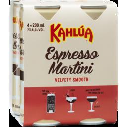 Photo of Kahlua Espresso Martini Can