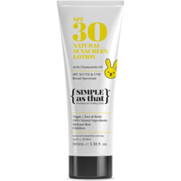 Photo of {Simple As That} Natural Sunscreen - SPF30 Children
