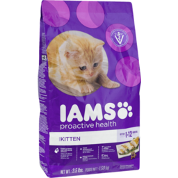 Photo of Iams Proactive Health Healthy Kitten Dry Cat Food 3.5 Pounds
