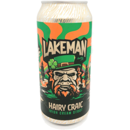 Photo of Lakeman Hairy Craic Irsh Crm Stout 500ml