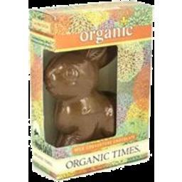 Photo of ORGANIC TIMES:OT Easter Bunny Milk Chocolate 70g