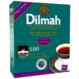 Photo of Dilmah Tea Bags Extra Strength 100pk