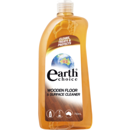 Photo of Earth Choice All-In-One Wood Floor Cleaner 600ml