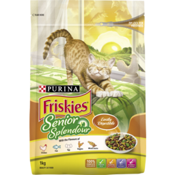 Photo of Purina Friskies Senior Splendour 1kg