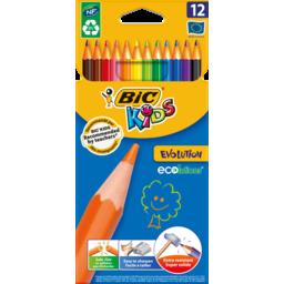 Photo of Bic Kids Evolution Wood Free Coloured Pencils 12pk