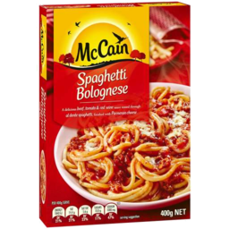 Photo of McCain Spaghetti Bolognese 400g