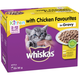 Photo of Whiskas Kitten With Chicken 12x85g