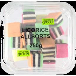 Photo of The Market Grocer Licorice Allsort Tub 250gm