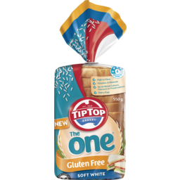 Photo of Tip Top® The One Gluten Free Soft White 550g
