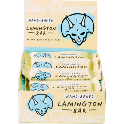 Photo of Blue Dinosaur Paleo Bars - Lamington - Box Of 12