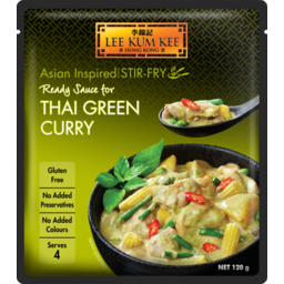 Photo of Lee Kum Kee Ready Sauce Thai Green Curry 120g