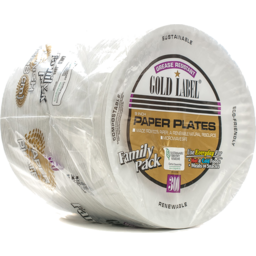 """Photo of Gold Label 9"""" 300ct Paper Plates"""
