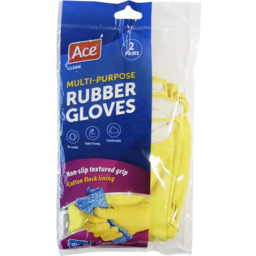 Photo of Ace Rubber Gloves Medium 2 Pairs