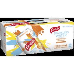 Photo of Frantelle Sparkling Water Pineapple & Orange 10 X 375ml Pack