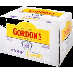 Photo of Gordon's 7% Gin & Tonic 7% 12x250ml Cans