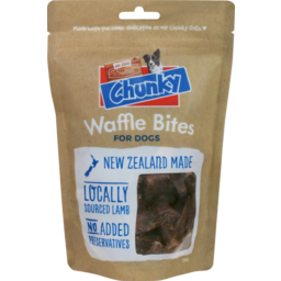 Photo of Chunky Waffles Dog Bites 50g