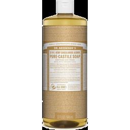 Photo of Dr Bronner's Pure-Castile Liquid Soap - Sandalwood Jasmine