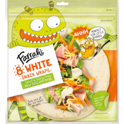 Photo of Farrahs Wraps Snack White 8 Pack