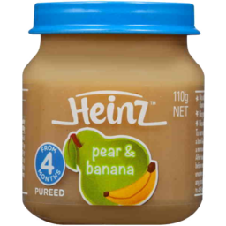 Photo of Heinz Pear & Banana 110g