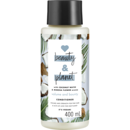 Photo of Love Beauty & Planet Coconut Water & Mimosa Flower Conditioner 400ml