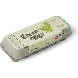Photo of GREEN EGGS - FREE RANGE 700G (1500 HENS P/H)
