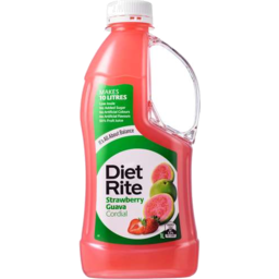 Photo of Diet Rite Cordial Straw Berry Guava 1lt