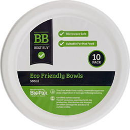 Photo of Best Buy Eco Bowls 10pk