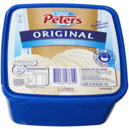 Photo of Nestle Peters Original Vanilla 2