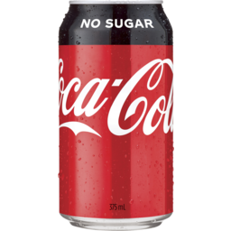 Photo of Coca Cola N/Sug S/C 375ml