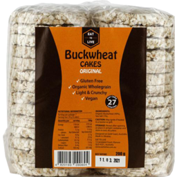 Photo of Etl Buckwheat Cakes Original 200g