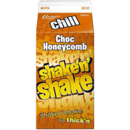 Photo of Brownes Shake N Shake Choc Honeycomb 500ml
