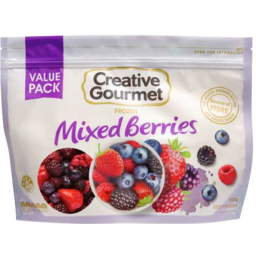 Photo of Creative Gourmet Frozen Mixed Berries 900gm