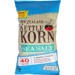 Photo of NZ Kettle Corn Sea Salt 110g