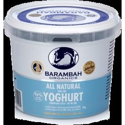Photo of Barambah Yoghurt - Natural