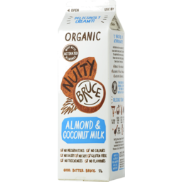 Photo of Nutty Bruce Organic Almond Coconut Milk 1L