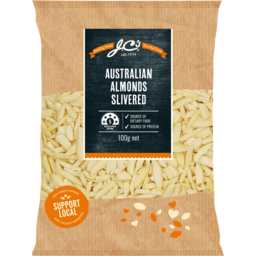 Photo of JC's Slivered Australian Almonds 100g