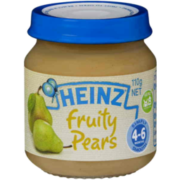 Photo of Heinz Baby Food Fruity Pears 110g