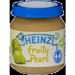 Photo of Heinz Baby Food Fruity Pears 110gm