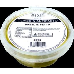 Photo of J&Co Persian Fetta & Basil 250g