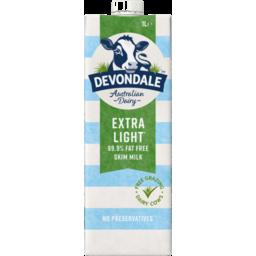 Photo of Devondale Extra Light Milk 1L